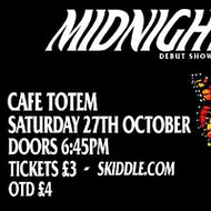 Midnight Son + Special Guests at Cafe Totem