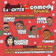 Brunch & Laughter Meets Comedy Brunch