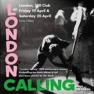 London Calling - A tribute to the Clash