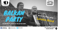 Balkan Party! Live Music All Night Long