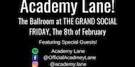 Academy Lane live at The Ballroom, Grand Social, Dublin