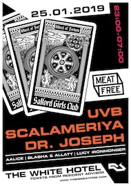 Meat Free with UVB, Scalameriya (Live), Dr. Joseph & More