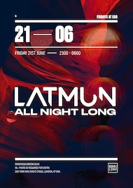 Fridays at EGG: Latmun (All Night Long)