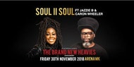 Soul II Soul Live at Arena MK plus special guests Brand New Heavies
