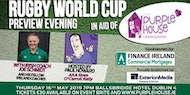 Rugby World Cup Preview Evening with Joe Schmidt & Ireland Coaching Team