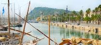 Viaje en velero por el mar Mediterráneo desde Barcelona