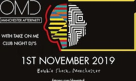 OMD Manchester Afterparty Special With Take On Me Club Night DJs