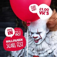 Quids In / Halloween Scare Fest / 29th Oct
