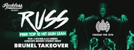 Brunel Takeover Ministry Of Sound - RUSS 'GUN LEAN' Performing Live!