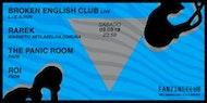 FANZINE CLUB presenta a Broken English Club