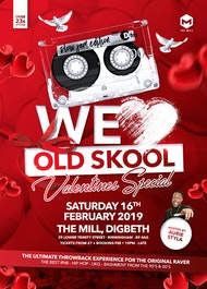 We Love Old Skool - Launch