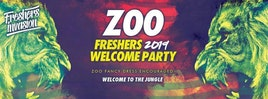 Sheffield Freshers Welcome Party   ZOO Theme Special