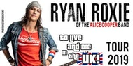 Ryan Roxie of the Alice Cooper Band LIVE!