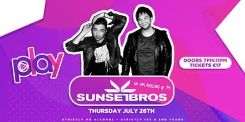 Play Disco Presents Sunset Bros at The Wright Venue