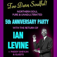 Too Darn Soulful 5th Anniversary with IAN LEVINE