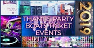 Boat Party - Saturday 6th July 2019