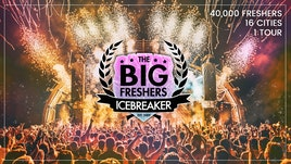 The Big Freshers Icebreaker Sheffield - An Official University Freshers Event