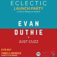 Eclectic Presents: Evan Duthie + Just Cuzz