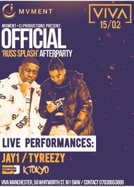 Jay1 and Tyreezy LIVE (RUSS OFFICIAL AFTERPARTY)